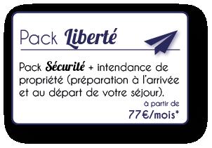 Pack Liberté conciergerie loire atlantique 44 morbihan 56