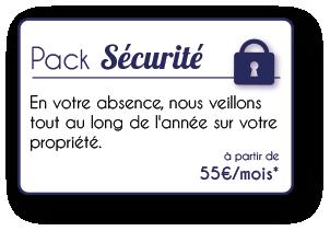 Pack Sécurité conciergerie loire atlantique 44 morbihan 56